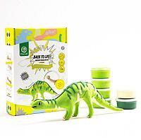 """Robotime: Конструктор+лепка """"Бронтозавр"""""""