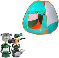 CampSet: Наб-ор для игры в поход 8 предметов со сковародкой