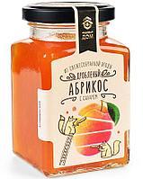 МД Абрикос  дробленый с сахаром, стекло, 290 гр