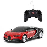 Rastar: Радиоуправляемая машинка Bugatti Chiron на пульте управления, красный, 1:24