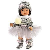 LLORENS: Кукла Лу 28 см., балерина азиатка