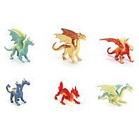 """Играем вместе: Набор из 6 фигурок """"Драконы"""""""