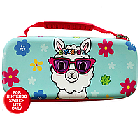 NS IMP Switch LITE Protective Carry & Storage Case Llama
