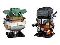 LEGO: Мандалорец и малыш Brick Headz 75317