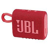 Портативная акустика JBL GO 3, красная