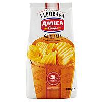 Чипсы картофельные Amica Chips Eldorada рифленные 130 гр