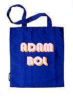 "Сумка-шопер хлопковая,синяя.""Адам Бол"".Коллекция Адам Бол.Qazaqstan ART."