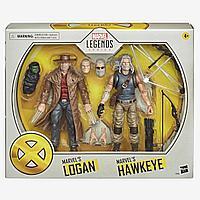 Marvel: Legends. X-Men. Набор фигурок Hawkeye and Logan 15см