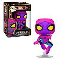 Фигурка Funko POP! Bobble Marvel Spider-Man Black Light (Exc) 49515