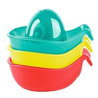 Playgro: Игрушки для ванны Кораблики 3 шт.