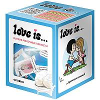 Конфеты жевательные Love is... Сливочные со вкусом сливок 105г