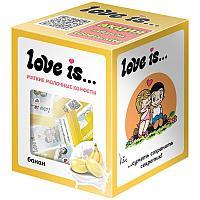 Конфеты жевательные Love is... Сливочные со вкусом банана 105г