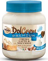 """Крем шоколадный """"DOLCREM PREMIUM Белый шоколад"""", 350г"""