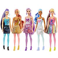 Barbie: Кукла Barbie Colour Reveal Shimmer, в асс.