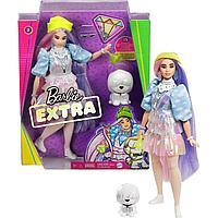 Barbie: Кукла Barbie Extra в желтой шапочке