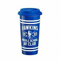 Кружка керамическая Funko Stranger Things Hawkins AV Club Lid Mug ST05995