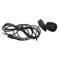Микрофон петличный Ritmix RCM-101, черный