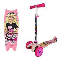 """1toy: Самокат """"Barbie"""", светящ., кол."""