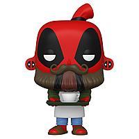 Фигурка Funko POP! Bobble Marvel Deadpool 30th Coffee Barista 54653