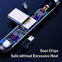 Кабель Baseus Iridescent Lamp HW flash charge Mobile Game USB For Type-C 40W