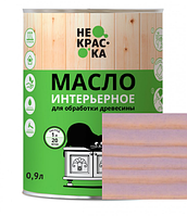 Масло интерьерное для обработки древесины Цвет: Сиреневый туман Н-05