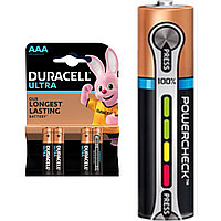 Батарейка щелочная Duracell Ultra Power AAA/LR03 с индикатором заряда, 1шт