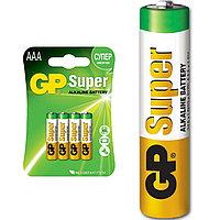 Батарейка щелочная GP Super AAA/LR03 , 1шт