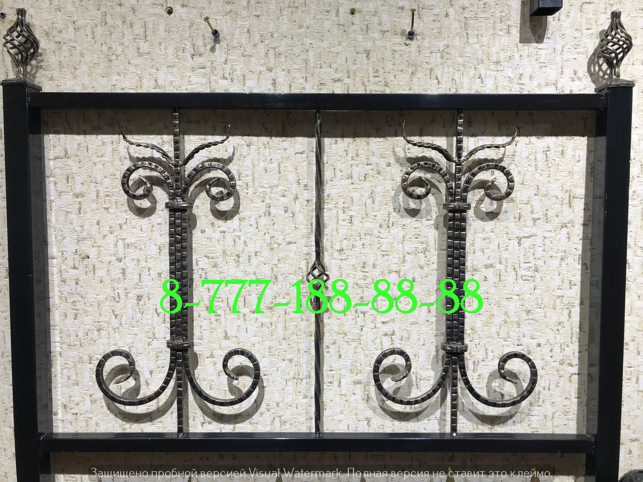 Оградки кованые №74