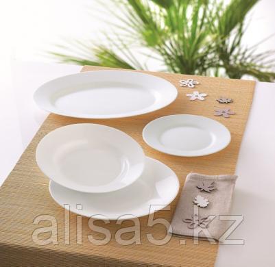 WHITE ESSENCE столовый сервиз на 6 персон из 19 предметов, шт