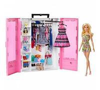 Barbie Шкаф чемодан модницы Барби GBK12