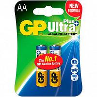 Батарейки щелочные GP Ultra Plus AA/LR6, 2шт