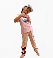 Розовая спортивная двойка Tommy для девочек 7 лет