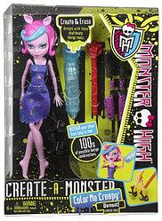 Mattel Куклы Monster High КУКЛА MONSTER HIGH WEREWOLF COLOR ME CREEPY BCC45 / Y7726