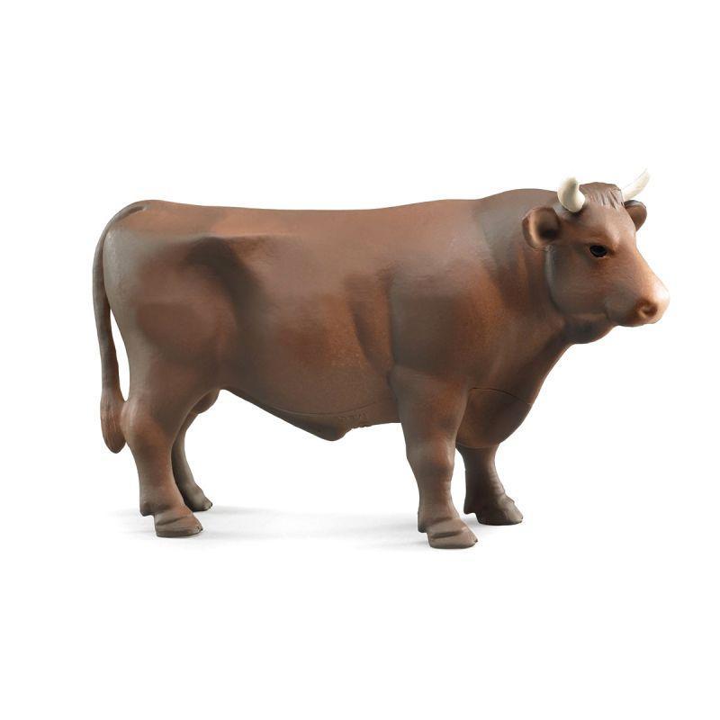 Bruder Фигурка Коричневый бык, 18,5 см., Брудер 02-309