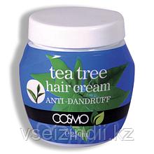 Крем -маска для волос против перхоти с чайным деревом COSMO, 250 мл