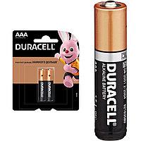 Батарейкa щелочная Duracell Basic AAA/LR03, 1шт