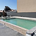 Блочный  пленочный бассейн 8х4х1.6м, фото 7