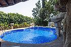 Блочный  пленочный бассейн 6х3х1.6м, фото 4