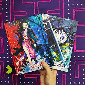 Блокноты-скетчбуки по аниме