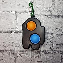 Симпл Димпл из 2 Сенсорная игрушка антистресс Вечная пупырка, Among Us, Амонг Ас