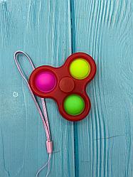 Simple Dimple игрушка антистресс Симпл Димпл спинер тройной