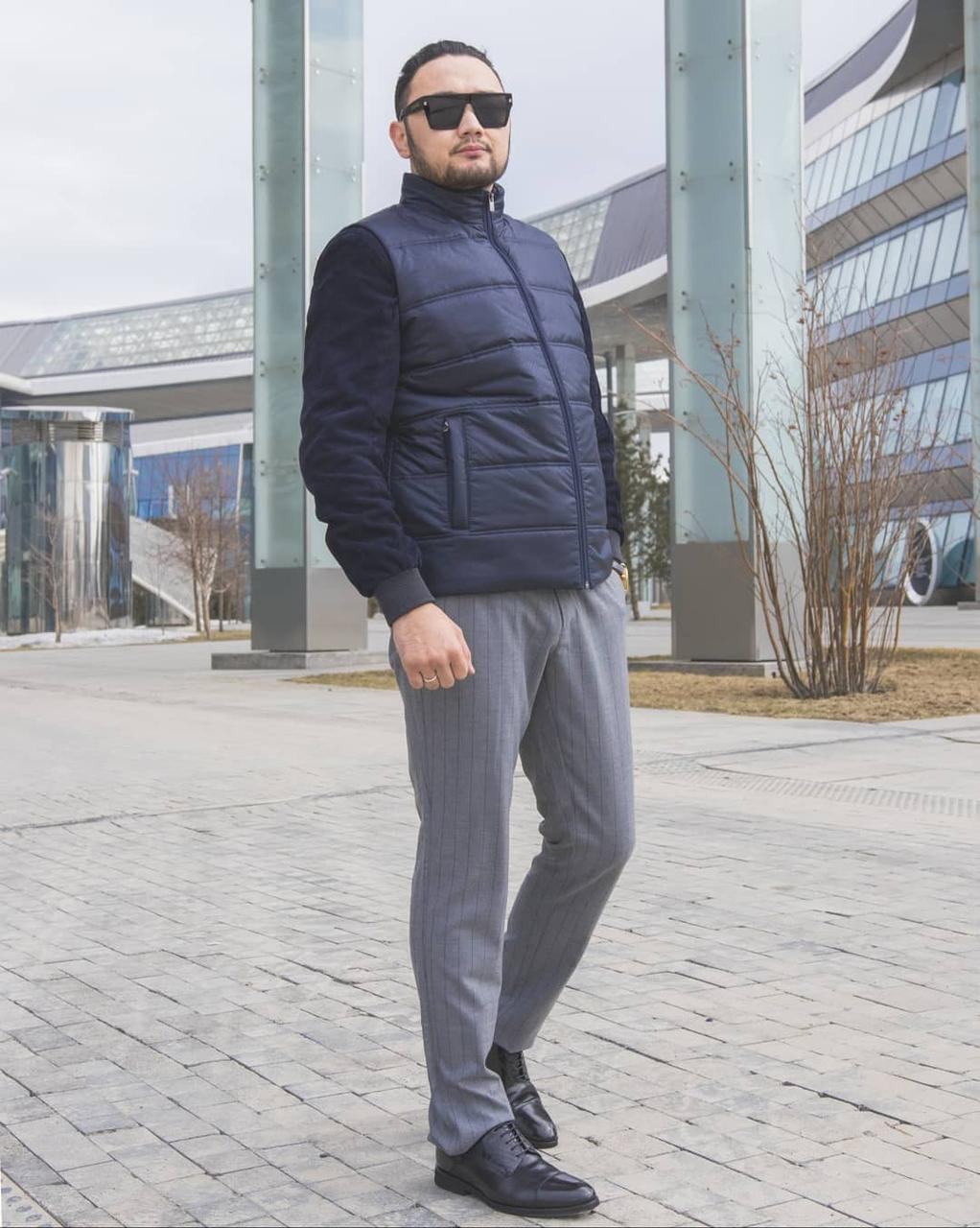 Мужской жилет (ULY MYRZA 2021)