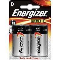 Батарейки алкалиновые Energizer Max D/LR20, 2 шт