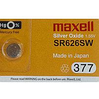 Батарейка Maxell 377 SR626SW