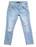 Рваные джинсы в стиле BILLIONAIRE унисекс 7 лет