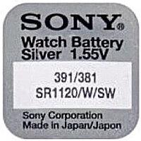 Батарейка Sony 391 SR1120