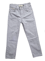 Льняные брюки в стиле burberry для мальчиков