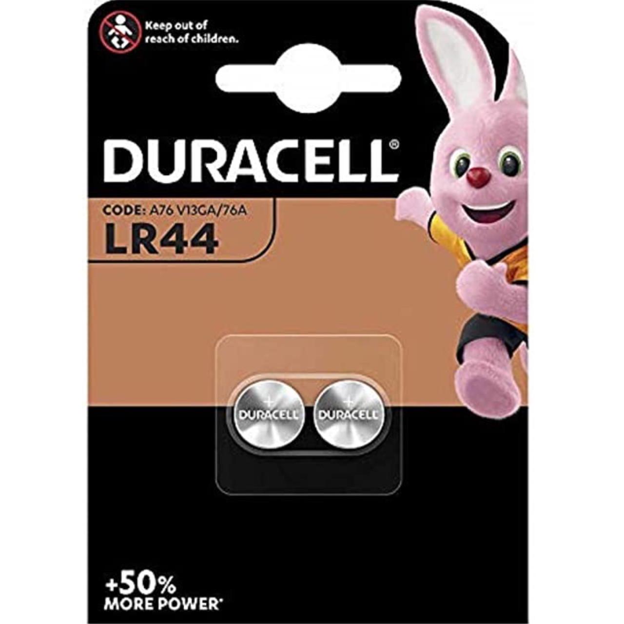 Батарейка Duracell LR44 1.5V, 2шт - фото 1