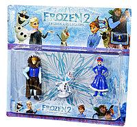 Немного помятая!!! 19491 Frozen II Герои 3шт из м/ф Холодное сердце 29*27см