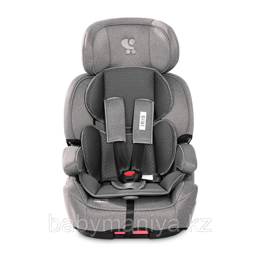 Автокресло Lorelli IRIS Isofix  9-36 кг Серый / Grey 2110